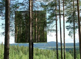 Mirror-reflecting